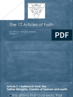 12 Articles of Faith