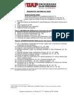 Requisitos Sistema de Tesis UAP
