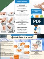 Igiene Delle Mani Brochure