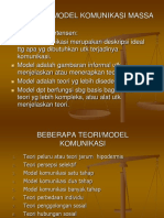5. Teori Dan Model Komunikasi