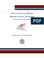 TN Comptroller's FY2017 audit of Grundy County