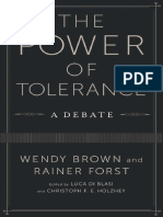 (New directions in critical theory) Holzhey, Christoph F. E._ Brown, Wendy_ Forst, Rainer_ Di Blasi, Luca-The power of tolerance _ a debate-Columbia University Press (2014).pdf