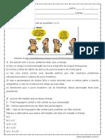 Atividade de Português Interpretação de Texto Charge Para ENEM 3ª Anos Pronta Para Imprimir (1)