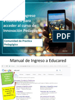 Manual Ingreso a Educared Actualizar Datos CPP 2017