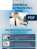 Resume Rescue - Turn Your Resume Into a Winner Final