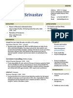 Shshank Srivastav Resume 1.1