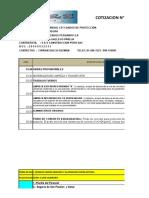 Ppto 015- Limpieza General CD y Dados de Protección.