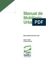 Manual de Mobiliario Urbano MMU