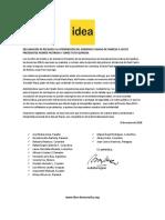 DECLARACIÓN DE RECHAZO A LA PROHIBICIÓN DEL GOBIERNO CUBANO DE INGRESO A LOS EX PRESIDENTES ANDRÉS PASTRANA Y JORGE TUTO QUIROGA