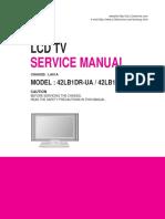 Lg 42lb1dr Lcd Tv Service Manual