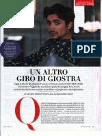 Pierantozzi intervista Giulio Beranek, Vanity Fair, 14 marzo 2018