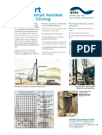 Report Waterjet Assisted Pile Driving