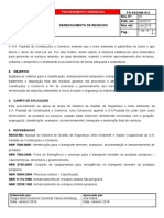 PG-QSMS-013-Gerenciamento de Resíduos REV. 04 - Aprovado