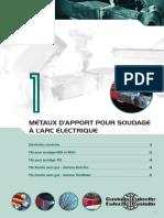 Métaux d'apport pour Soudage à l'Arc Electrique.pdf