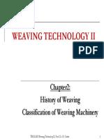 WeaveTech Chapter2 History