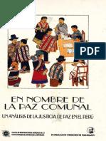 Brandt 1990 en Nombre de La Paz Comunal