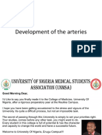 Development of the Arteries