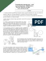 LISTA 1 FIXAÇÃO Manometria 2018.pdf