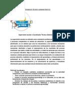 Funciones Del Coordinador Técnico Administrativo