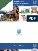 UN UL ULVR Unilever cagny 2018