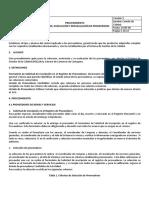 Procedimiento Seleccion, Evaluacion y Reevaluacion de Proveedores.pdf