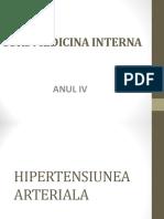 Curs Hipertensiunea Arteriala