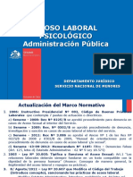 Capacitación Acoso Laboral (DEJUR 2012)