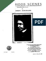 Schumann Kinderscenen