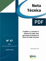 Nota Tecnica Brasil SUS