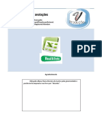 Resumo - Microsoft Office Excel Avançado