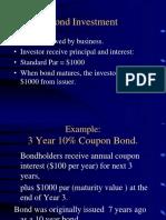 Bond Intro Personal Fin