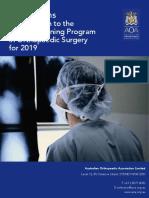 2019 Aoa 21 Training Program Selection Regulations