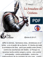 Tema La Armadura Del Cristiano