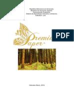 Plan de Producción de Papel y Celulosa, SAIA GRUPO Nº 4.