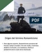 Presentación Bloque 1 Romanticismo