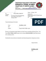 Mohon Cetak Rekening Koran Bank Sumut