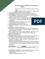 Instructivo de Cómo Diligenciar El Formato de Legalizacion de Gastos