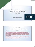 Direito Empresarial - Parte 2