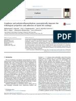 Graphene and Polytetrafluoroethylene Synergistically Improve The