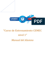 CEMEC Manual Curso Entrenamiento Nivel 1