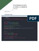 ProgramScaling - AnandaVickryPratama(11160930000007)