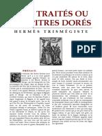 [Alchimie] Hermès Trismégiste - Sept Traités ou Chapitres Dorés.pdf