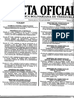 Gaceta Oficial Órgano Superior de Ediciones e Imprentas Públicas