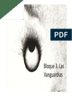Presentación Bloque 3 Las Vanguardias