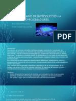 Cuestionario de Introducción a Los Microprocesadores