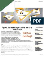 Qual a diferença entre brief e briefing? | Otimização de Sites - SEO | Blog