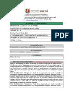 ED FÍSICA Plano de Aula 1º Ano 19 a 15 Do 03