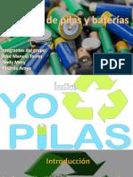 Reciclajes de Pilas
