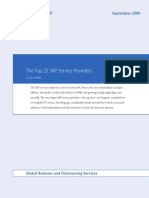 The Top 25 SAP Service Providers