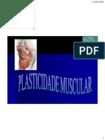 1.Plasticidade Do Tecido Muscular. Cefisa
